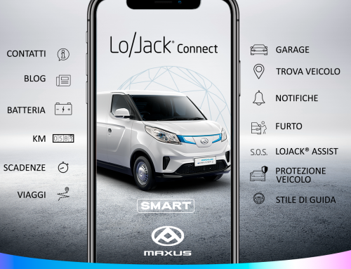 MAXUS eDELIVER 3 e eDELIVER 9, i nuovi veicoli commerciali nativi elettrici, connessi e protetti grazie alla tecnologia LoJack®
